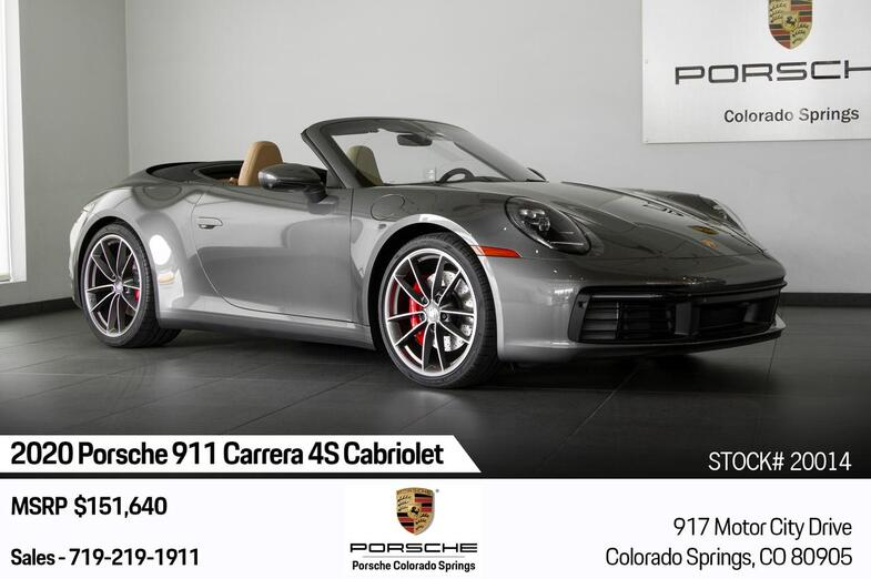 2020 Porsche 911 911 Carrera 4S Cabriolet Colorado Springs CO