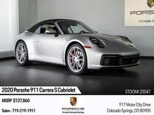 Porsche 911 911 Carrera S Cabriolet 2020