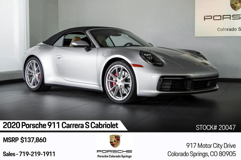 2020 Porsche 911 911 Carrera S Cabriolet Colorado Springs CO