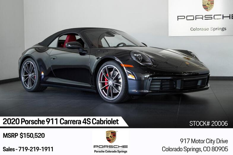 2020 Porsche 911 Carrera 4S Cabriolet Colorado Springs CO