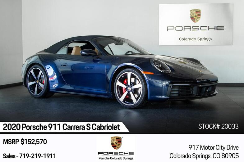 2020 Porsche 911 Carrera S Cabriolet Colorado Springs CO