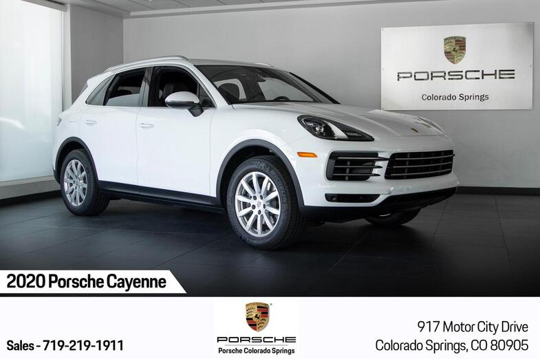 2020 Porsche Cayenne  Colorado Springs CO