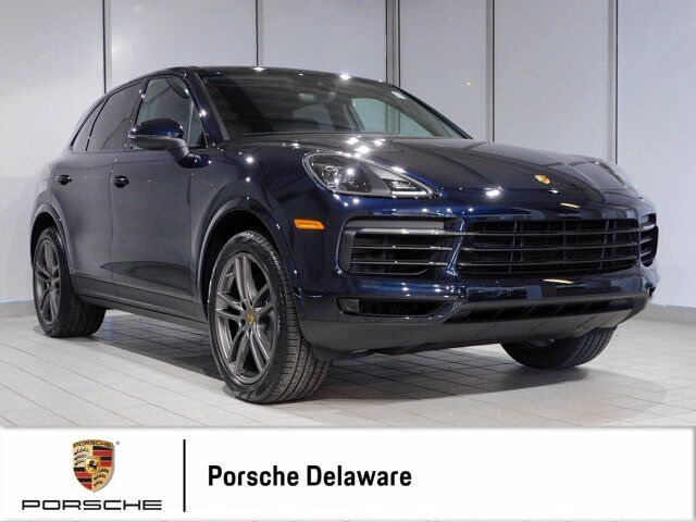 2020 Porsche Cayenne 21 INCH TURBO WHEELS IN SATIN PLATINUM Newark DE