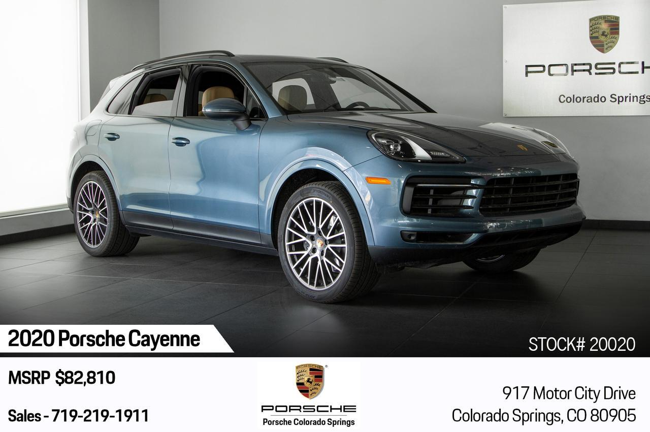 2020 Porsche Cayenne Cayenne Colorado Springs CO
