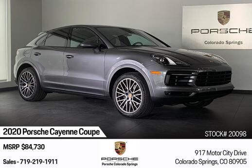 2020 Porsche Cayenne Cayenne Coupe Colorado Springs CO