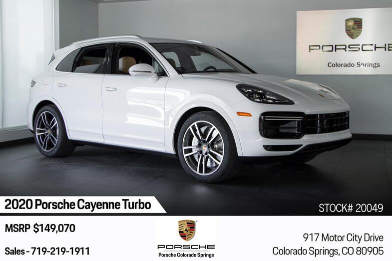 2020 Porsche Cayenne Cayenne Turbo Colorado Springs CO