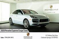 Porsche Cayenne Coupe Turbo 2020