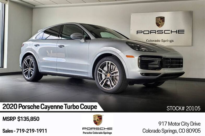 2020 Porsche Cayenne Coupe Turbo Colorado Springs CO