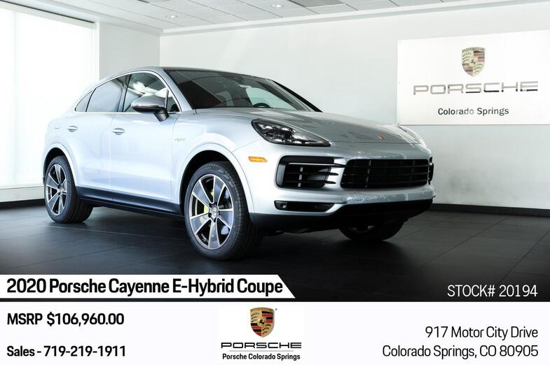 2020 Porsche Cayenne E-Hybrid Coupe Colorado Springs CO