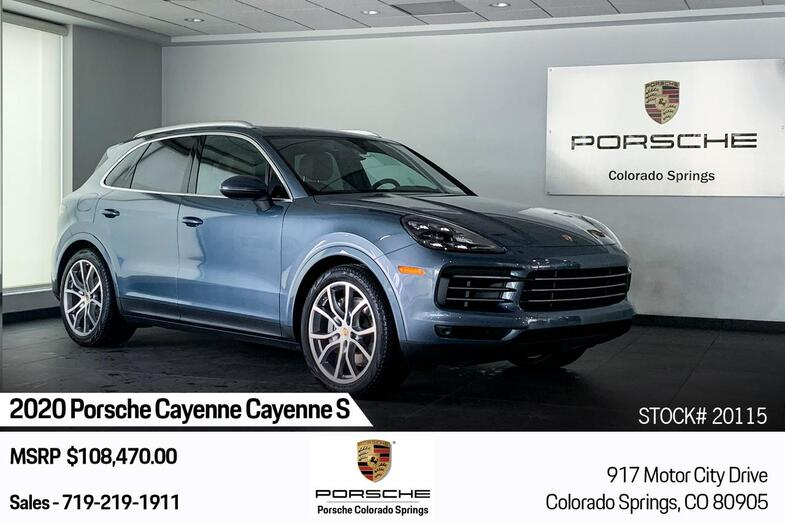 2020 Porsche Cayenne S Colorado Springs CO