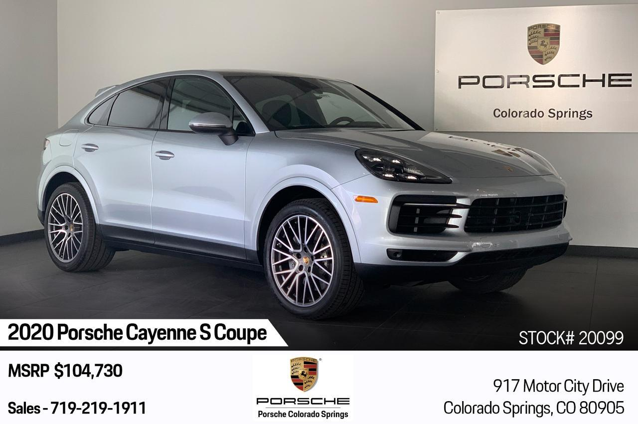 2020 Porsche Cayenne S Coupe Colorado Springs CO