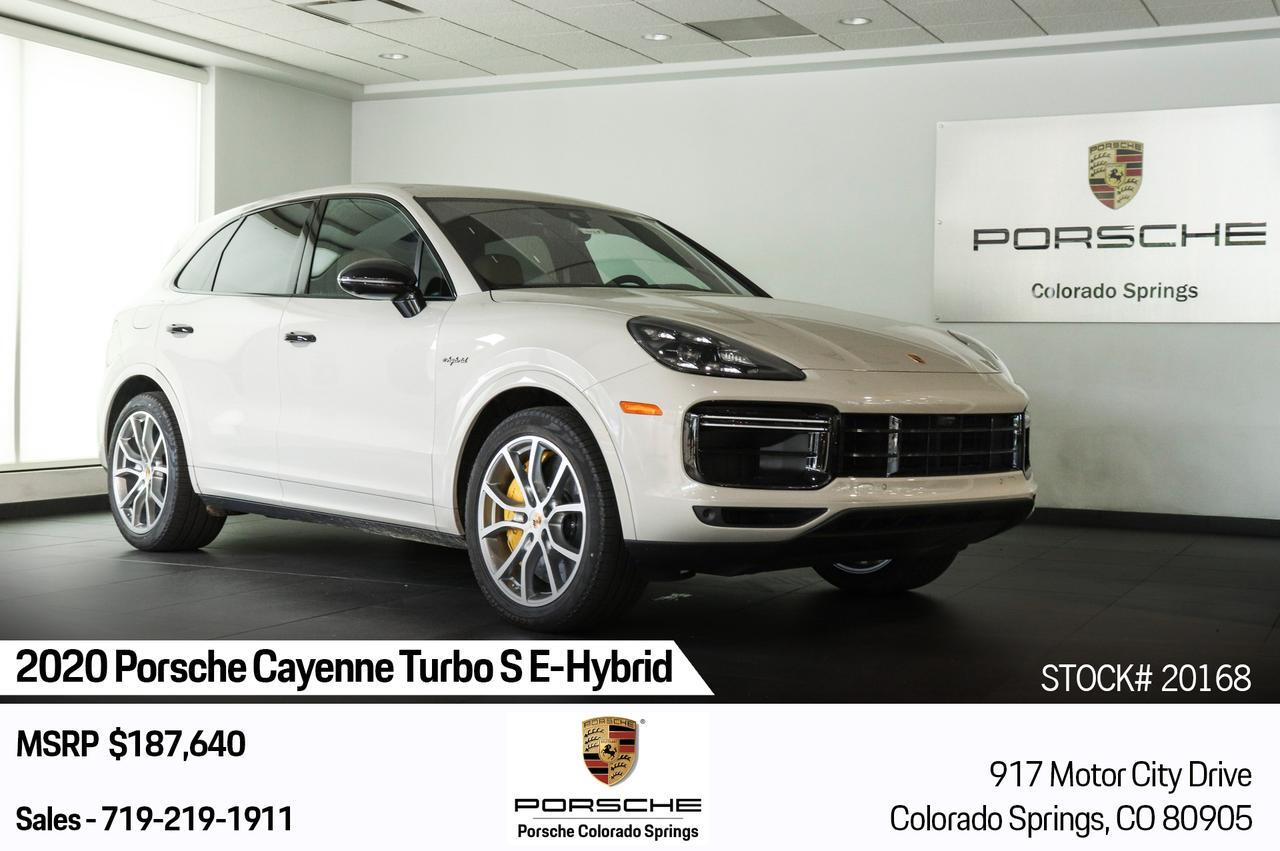 2020 Porsche Cayenne Turbo S E-Hybrid Colorado Springs CO