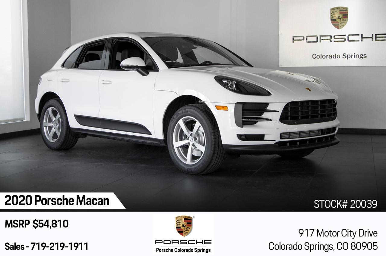 2020 Porsche Macan  Colorado Springs CO