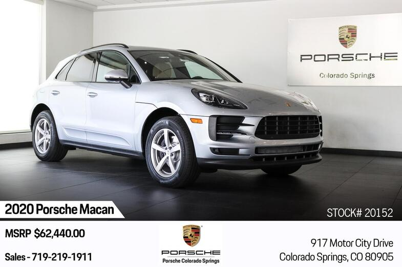 2020 Porsche Macan AWD Colorado Springs CO