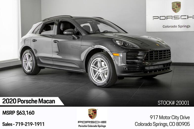 2020 Porsche Macan Macan Colorado Springs CO