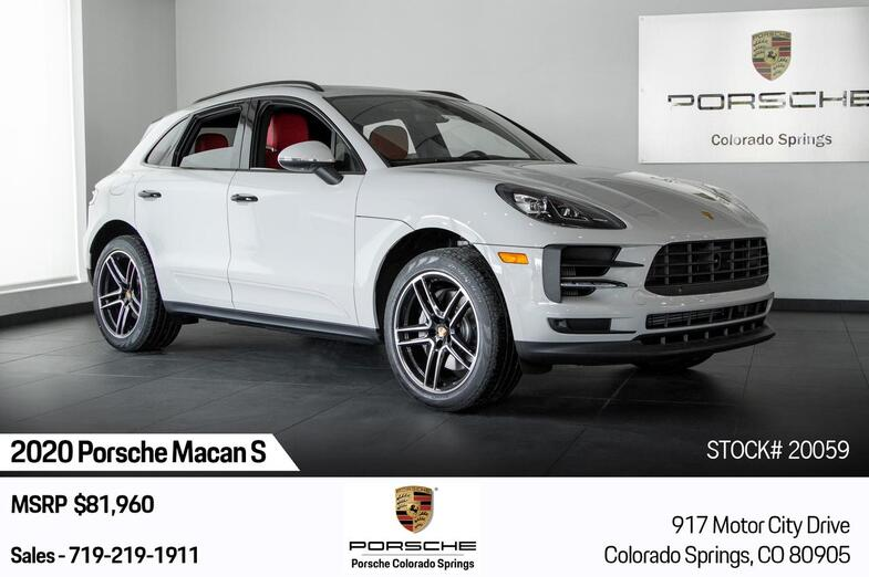 2020 Porsche Macan Macan S Colorado Springs CO