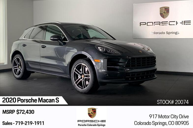 2020 Porsche Macan S Colorado Springs CO