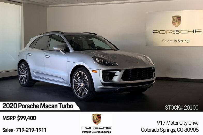 2020 Porsche Macan Turbo Colorado Springs CO
