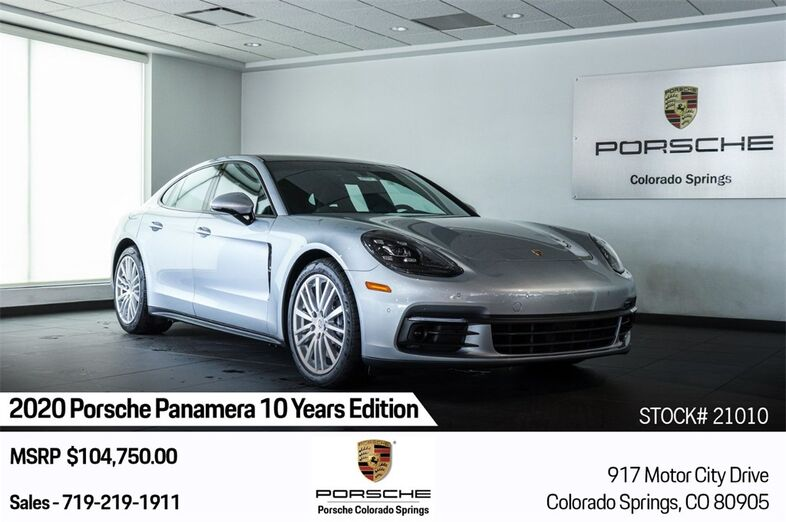 2020 Porsche Panamera 4 Colorado Springs CO