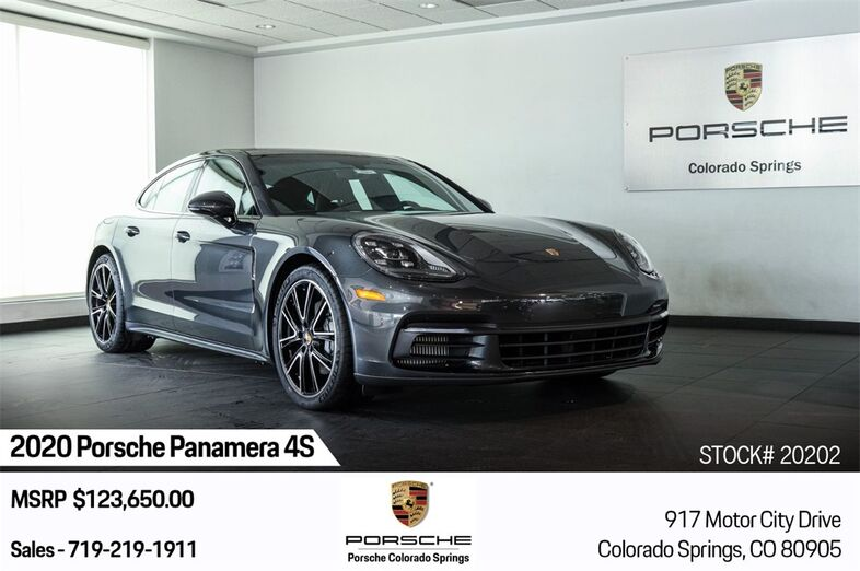 2020 Porsche Panamera 4S Colorado Springs CO