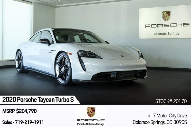2020 Porsche Taycan Turbo S Colorado Springs CO