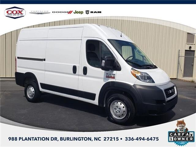 2020 RAM ProMaster 1500 Base Cargo Van High Roof 136 in. WB Burlington NC