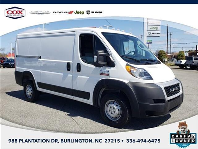2020 RAM ProMaster 1500 Low Roof Cargo Van 136 in. WB Burlington NC