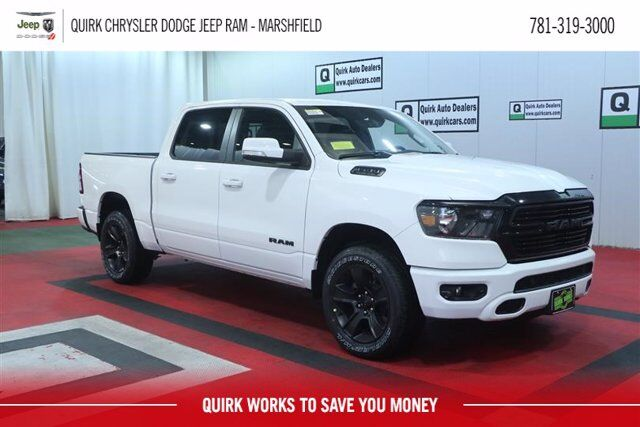 2020 Ram 1500 BIG HORN CREW CAB 4X4 5'7 BOX Marshfield MA
