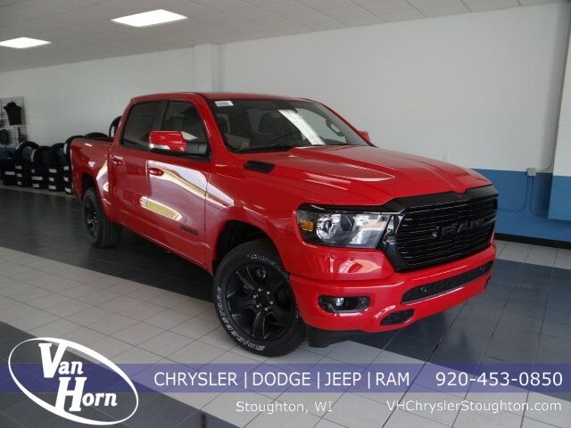 2020 Ram 1500 BIG HORN CREW CAB 4X4 5'7 BOX Stoughton WI
