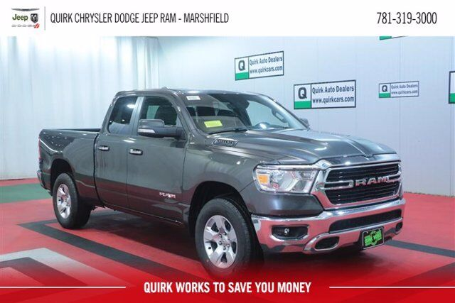 2020 Ram 1500 BIG HORN QUAD CAB 4X4 6'4 BOX Marshfield MA