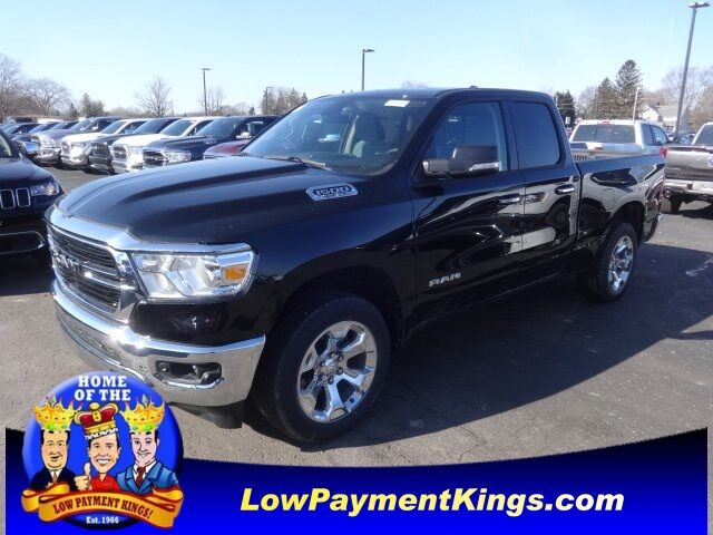 2020 Ram 1500 BIG HORN QUAD CAB 4X4 6'4 BOX Monroe MI