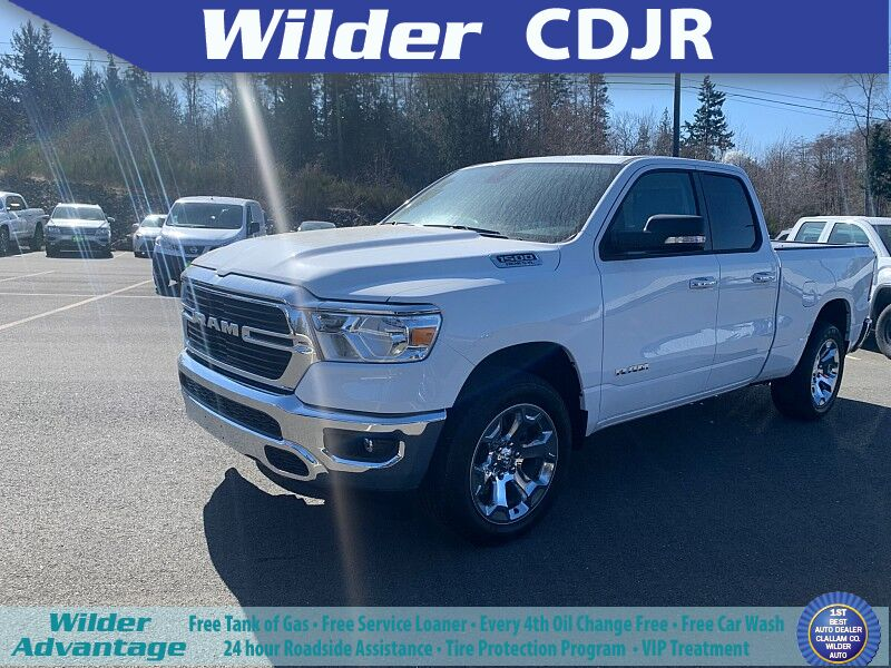 2020 Ram 1500 BIG HORN QUAD CAB 4X4 6'4 BOX Port Angeles WA