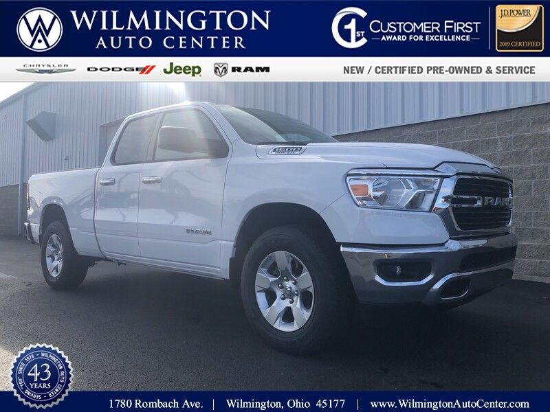 2020 Ram 1500 BIG HORN QUAD CAB 4X4 6'4 BOX Wilmington OH