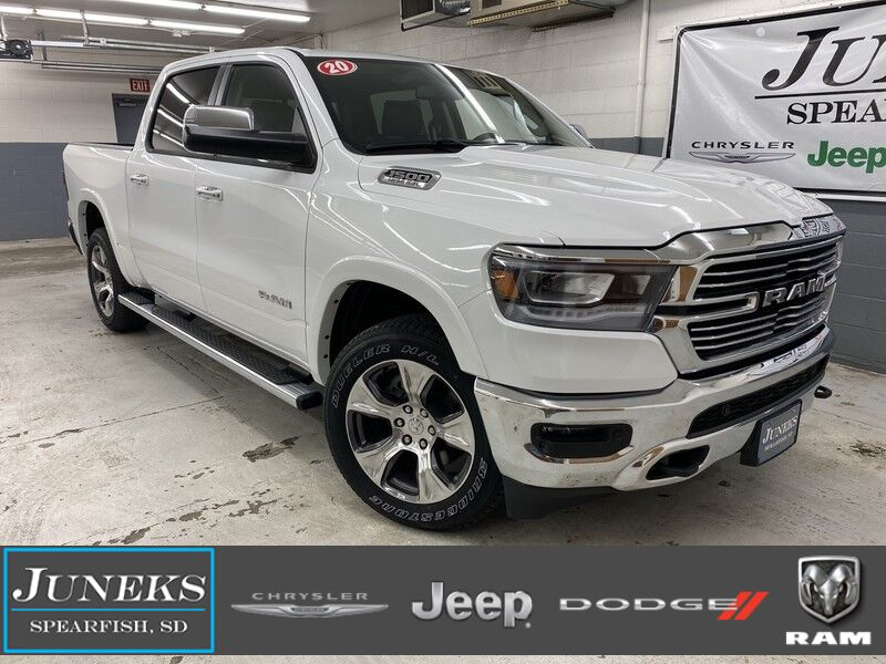 2020 Ram 1500 LARAMIE CREW CAB 4X4 5'7 BOX Spearfish SD
