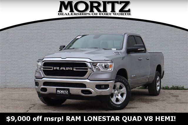 2020 Ram 1500 LONE STAR QUAD CAB 4X4 6'4 BOX