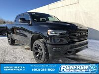 Ram 1500 Limited Black Package Crew Cab 4x4 2020