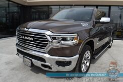 2020_Ram_1500_Longhorn / 4X4 / 5.7L HEMI V8 / Crew Cab / Auto Start / Heated & Cooled Leather Seats / Heated Steering Wheel / Navigation / Panoramic Sunroof / Bluetooth / Back Up Camera / Cruise Control / 24 MPG / 1-Owner_ Anchorage AK