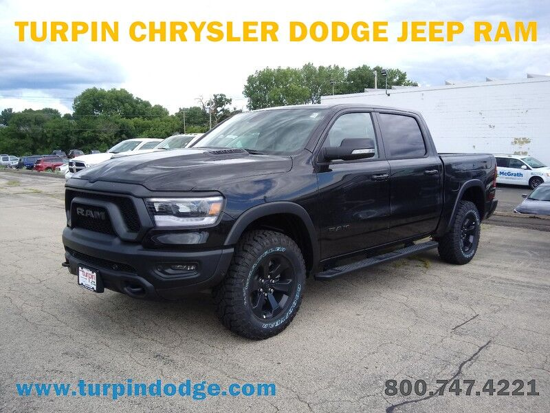 2020 Ram 1500 REBEL CREW CAB 4X4 5'7 BOX Dubuque IA