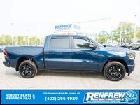 Ram 1500 Sport Crew Cab 4x4, Pano Sunroof, 12Inch Screen, Pwr Running Boards 2020