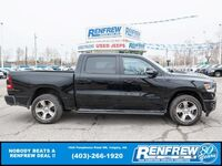 Ram 1500 Sport Crew Cab 4x4, Pano Sunroof, Nav, Cooled/Heated Leather 2020