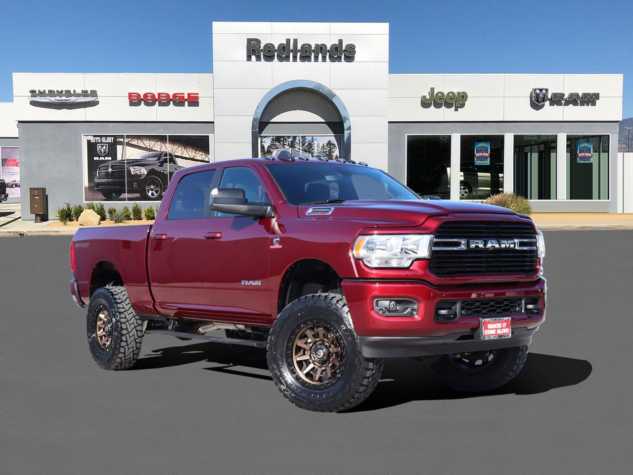 2020 Ram 2500 BIG HORN CREW CAB 4X4 6'4 BOX Redlands CA