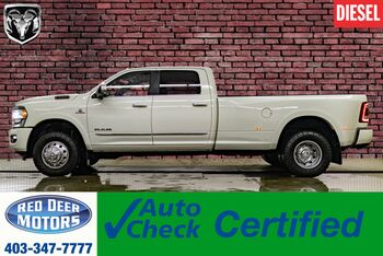 2020_Ram_3500_4x4 Crew Cab Limited Dually AISIN Leather Roof Nav_ Red Deer AB