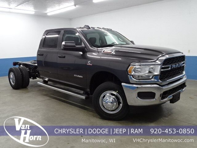 "2020 Ram 3500 Chassis Cab TRADESMAN CREW CAB CHASSIS 4X4 60 CA"" Manitowoc WI"