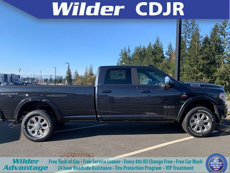 2020 Ram 3500 LARAMIE CREW CAB 4X4 8' BOX Port Angeles WA