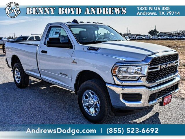 2020 Ram 3500 TRADESMAN REGULAR CAB 4X4 8' BOX Andrews TX