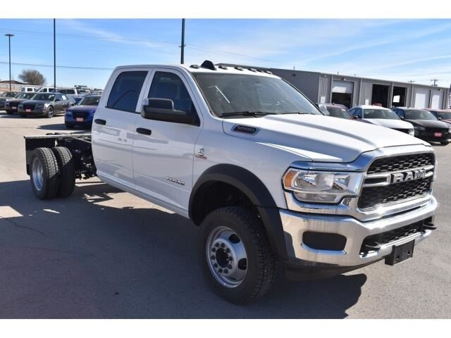 "2020 Ram 5500 Chassis Cab TRADESMAN CHASSIS CREW CAB 4X4 60 CA"" Andrews TX"