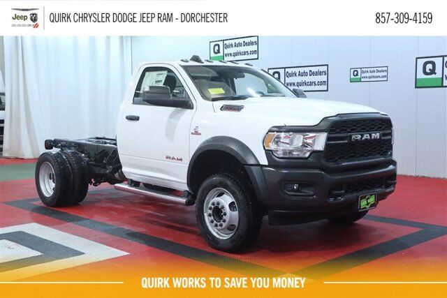 "2020 Ram 5500 Chassis Cab TRADESMAN CHASSIS REGULAR CAB 4X4 60 CA"" Boston MA"