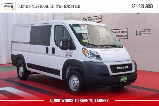 "2020 Ram ProMaster 1500 CARGO VAN LOW ROOF 136 WB"" Marshfield MA"