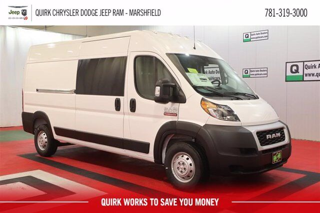 "2020 Ram ProMaster 2500 CARGO VAN HIGH ROOF 159 WB"" Marshfield MA"