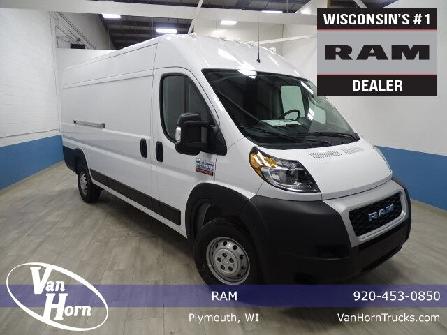"2020 Ram ProMaster 3500 CARGO VAN HIGH ROOF 159 WB EXT"" Plymouth WI"